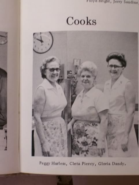 My School Pizza Recipe. Lunch ladies. We had really great ones in grade school in the '50s.