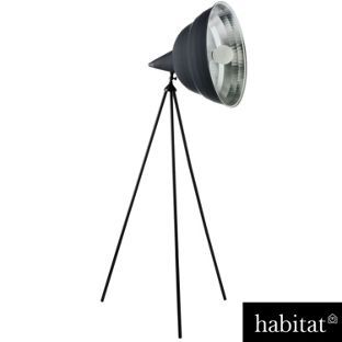 Habitat Photographic - Giant Floor Lamp - Black from Homebase.co.uk £170