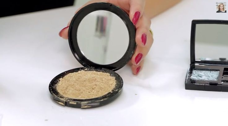 It's happened to all of us--our favorite compact powder drops to the floor and cracks into a million beautiful little pieces. Whatever you do, don't put that product back in your makeup bag. It will cause a mess and an even bigger headache. Instead, put your ingenuity to work. You can fix your broken powder makeup with a super easy trick and have your makeup back to new. All you need is some time and this video.