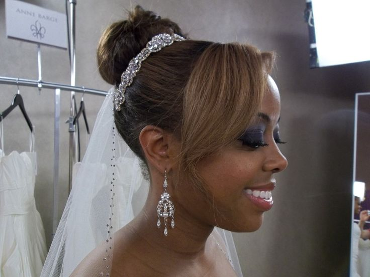Veil By Erin Cole, African American Bridal Hair And Makeup