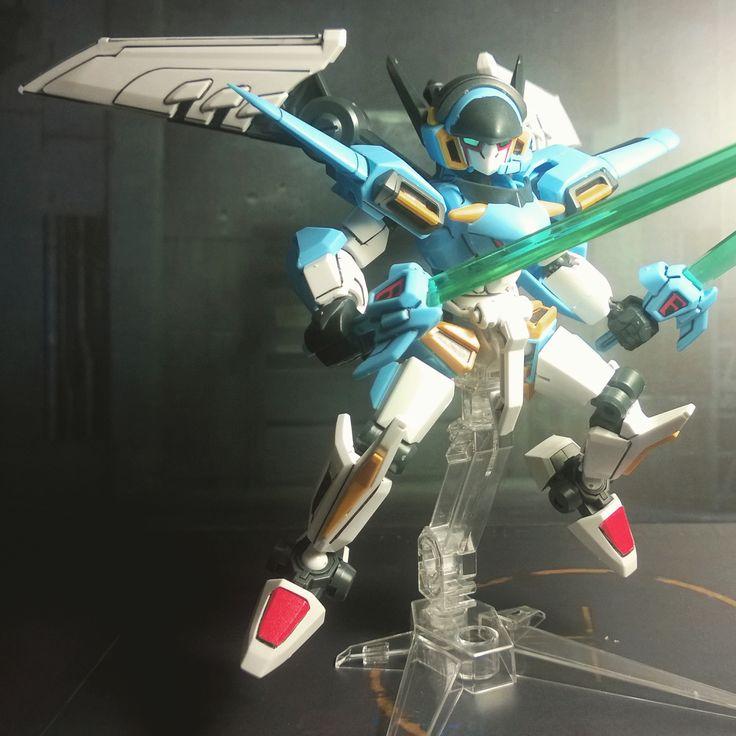 LBX Ikaros Force in a cool pose