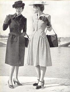 1940's Fashion - A young womans wardrobe plan 1947