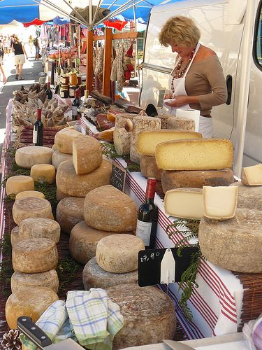 Marché-fromage des pyrénées