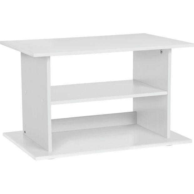 Buy HOME TV Unit - White at Argos.co.uk - Your Online Shop for TV stands, TV stands and wall brackets, Televisions and accessories, Technology.