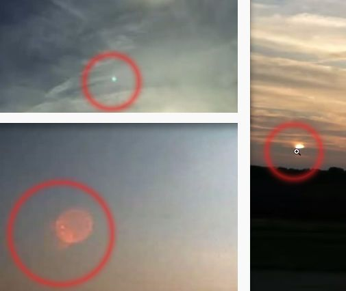 12/02/2015: PLANET X or Planet X7, or Nibiru, or the Sun's Sister : Pictures of sunsets taken by YouTube video maker Henning Kemner, which he believes show Niribu coming, but are more likely just lens flares