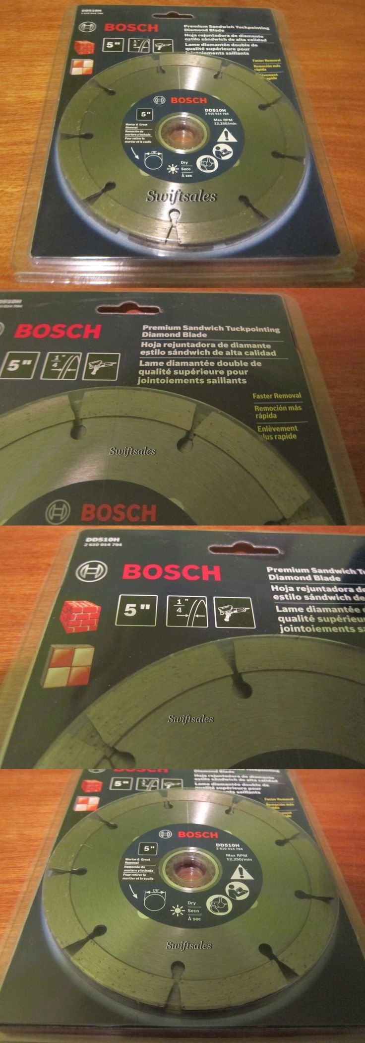 Grinding Wheels and Accessories 79703: Bosch Dd510h 5 Premium Sandwich Tuckpointing Diamond Grinder Blade - New Sealed -> BUY IT NOW ONLY: $37.99 on eBay!