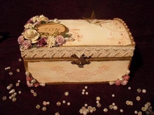 46 best wooden jewelry boxes images on Pinterest Decorative boxes