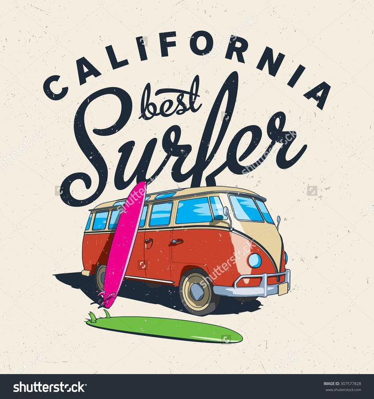 The Best Surfing In California Label Design For Posters, T-Shirts Etc./ Surfer/ Surf Men/ Surfing Board/ California Sunshine/ Hipster Surf/ California Surfing/ Hipster Bus/ Surfer Bus/ Best Surfer Stock Vector Illustration 307577828 : Shutterstock