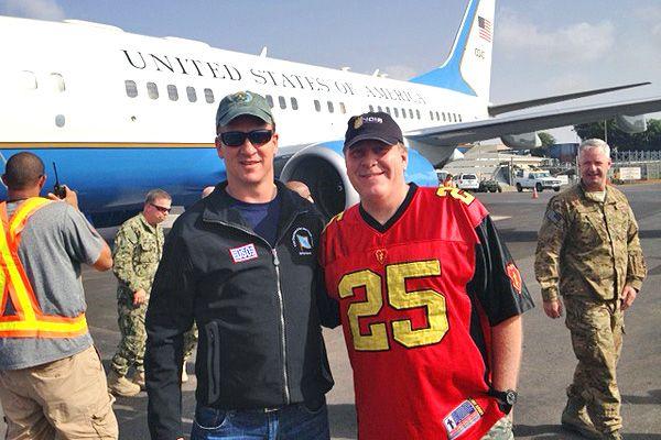 Peyton Manning Family | Peyton Manning's USO tour journal - ESPN