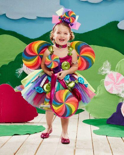 candy fairy girls costume