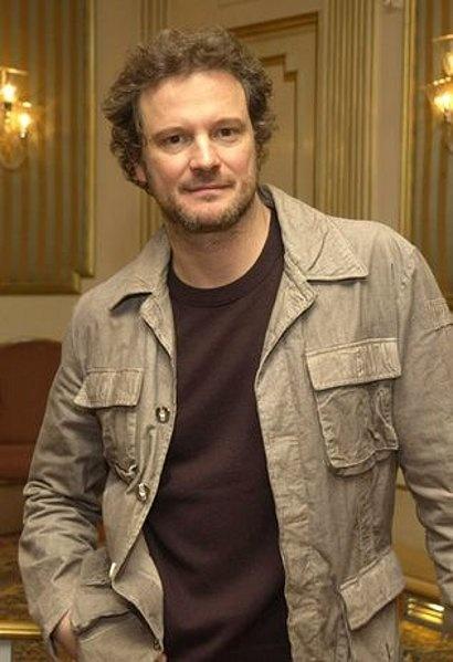 Colin Firth. My man lo...
