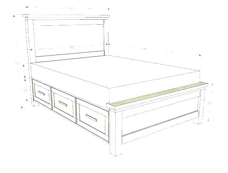 What Are The Dimensions Of A Twin Bed Frame Twin Bed Frame Bed
