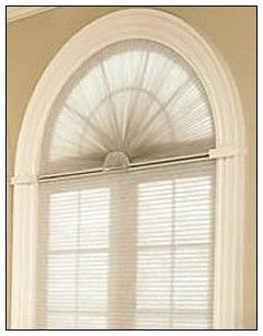 window treatment for arched windows - Google Search