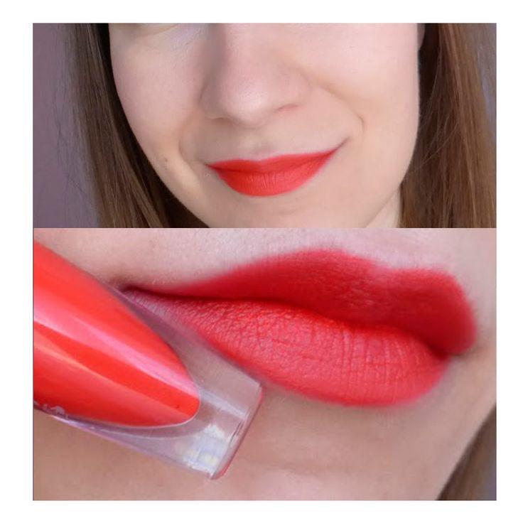 Жидкая помада мусс oriflame для губ The ONE Коралловый Sensation Coral Dream орифлейм Lipstick mousse Lip Matte орифлэйм 31946