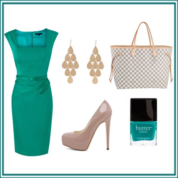 Teal and nude, created by jkirchner on Polyvore: Swanky Teal, Teal Nude Color, Bag, Polyvore, Jkirchner, Color Combination