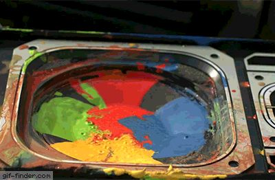 Paint on a Speaker at 2500fps | Gif Finder – Find and Share funny animated gifs