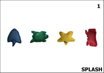 Splash basic devient un jeu de table à la mauvaise saison permettant de reproduire des modèles avec différentes orientations spatiales.