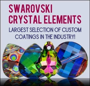 Swarovski beads are the best crystal components on the market!
