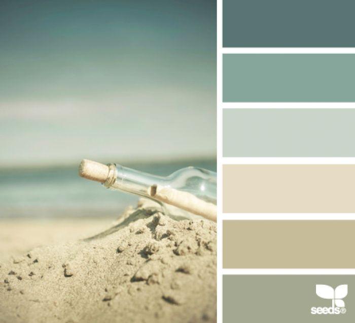 kleurencombinaties - Rustgevende kleurcombinatie, share the colors.