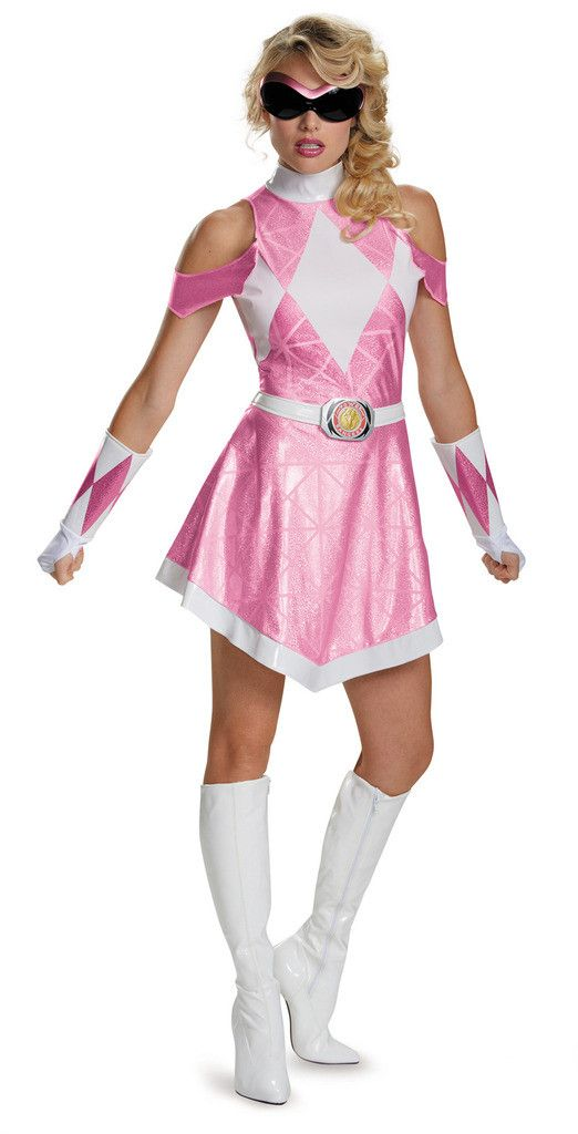 Mighty Morphin Power Rangers: Pink Ranger Sassy Deluxe Adult Costume
