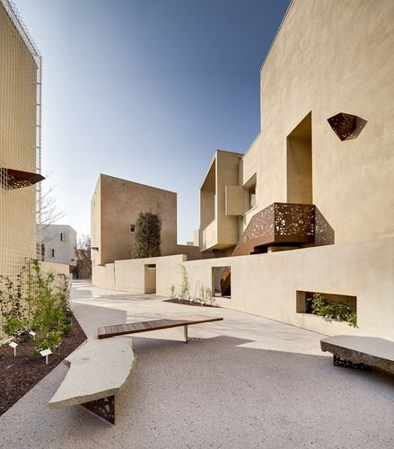 courtyard / Contrà Leopardi TOTI SEMERANO