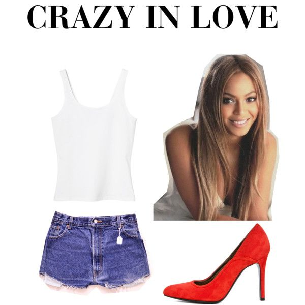 Beyonce-crazy in love. Outfit by berta-svansdottir on Polyvore featuring Monki…