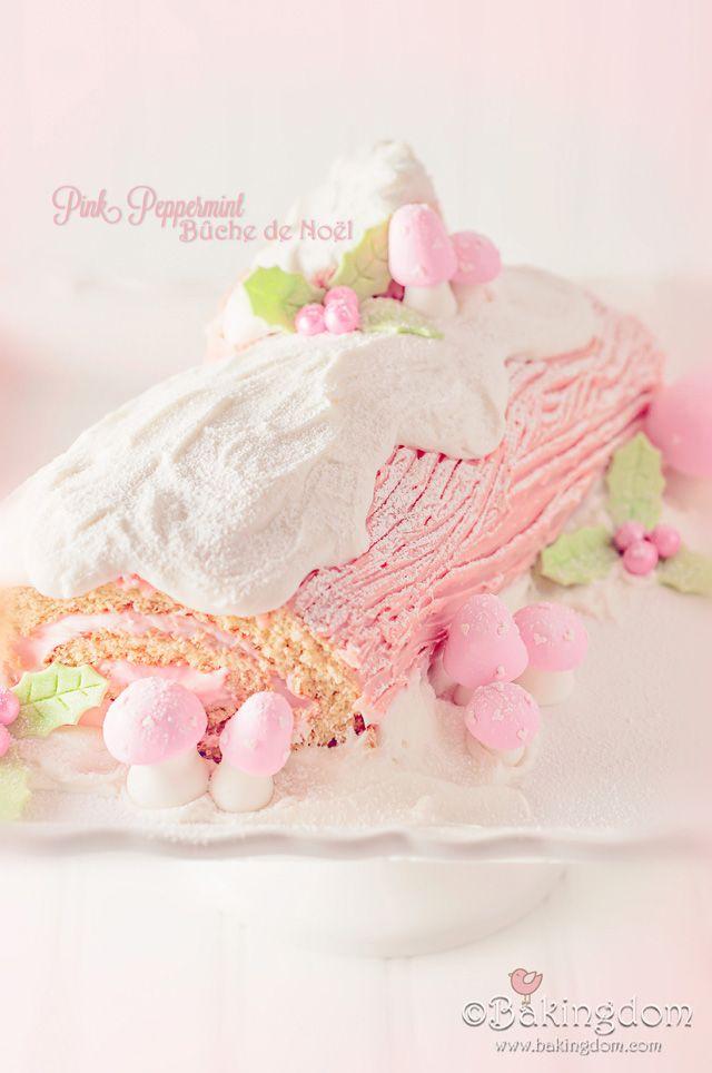 Pink Peppermint Bûche de Noël