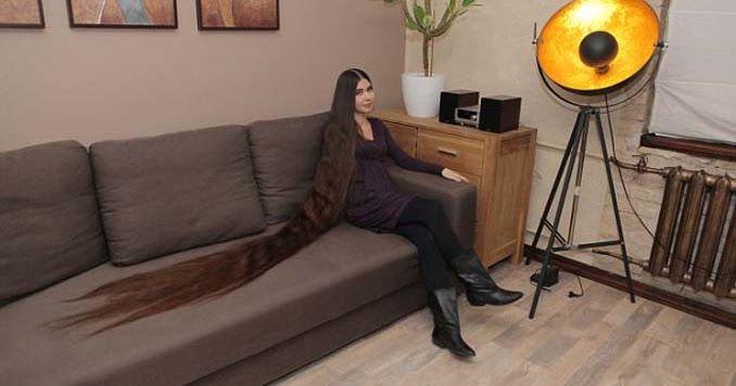 Η αληθινή Ραπουνζέλ που έχει μήκος μαλλιών 2,2 μέτρα