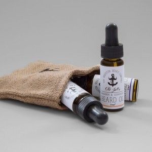 Groomsbridge Gift Set - Set of 3 beard oil. The perfect gift for that beard wearer in your life! #forhim #gifts #mens