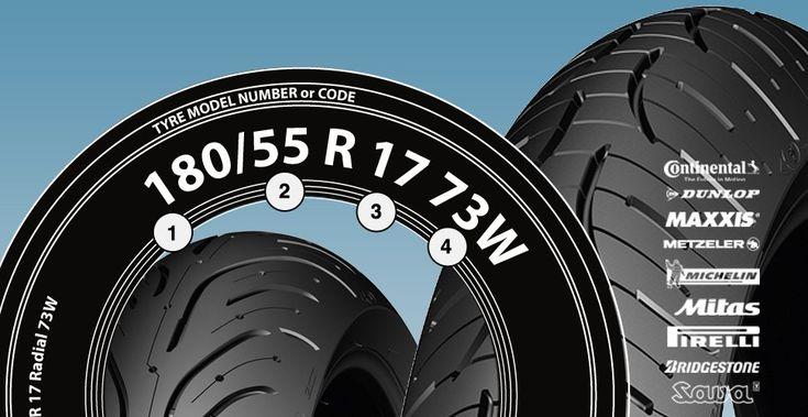 Como se leen las medidas de un neumático de moto: alto,ancho,diámetro del aro,índice de carga/velocidad   tabla de correspondencias