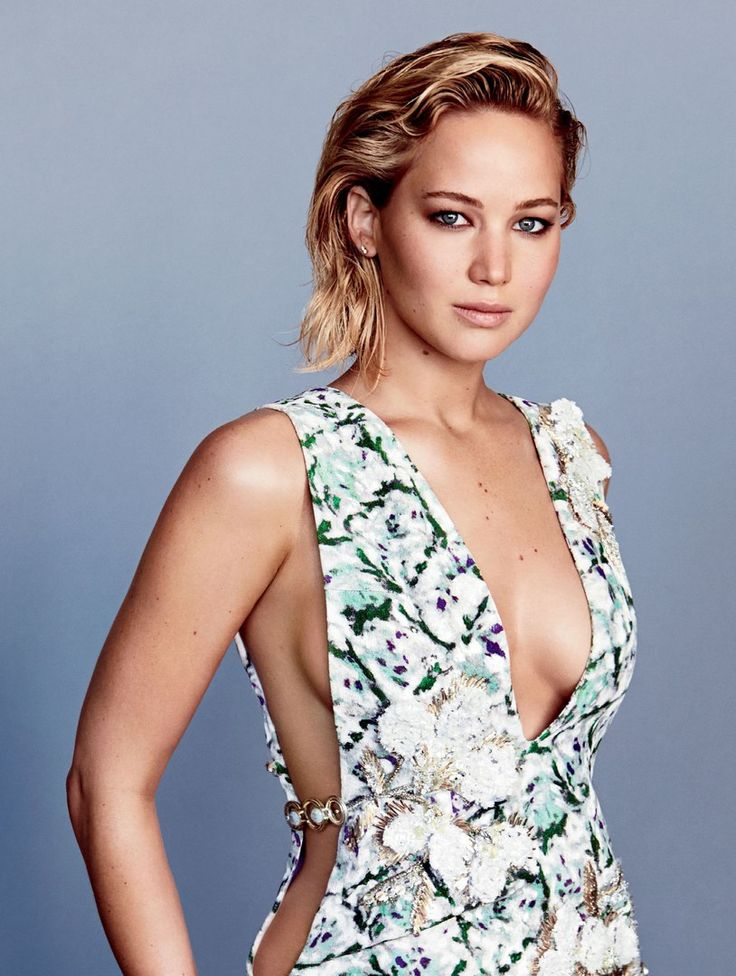 Jennifer Lawrence  by Patrick Demarchelier for Glamour Magazine, Feb 2016