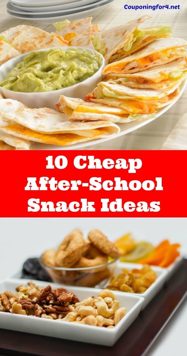 10 Cheap After-School Snack Ideas - After-school snacks are a necessity when your kids are starving after a long day, but they don't have to be expensive! Let these tips give you some ideas for how to save money on your snacks.