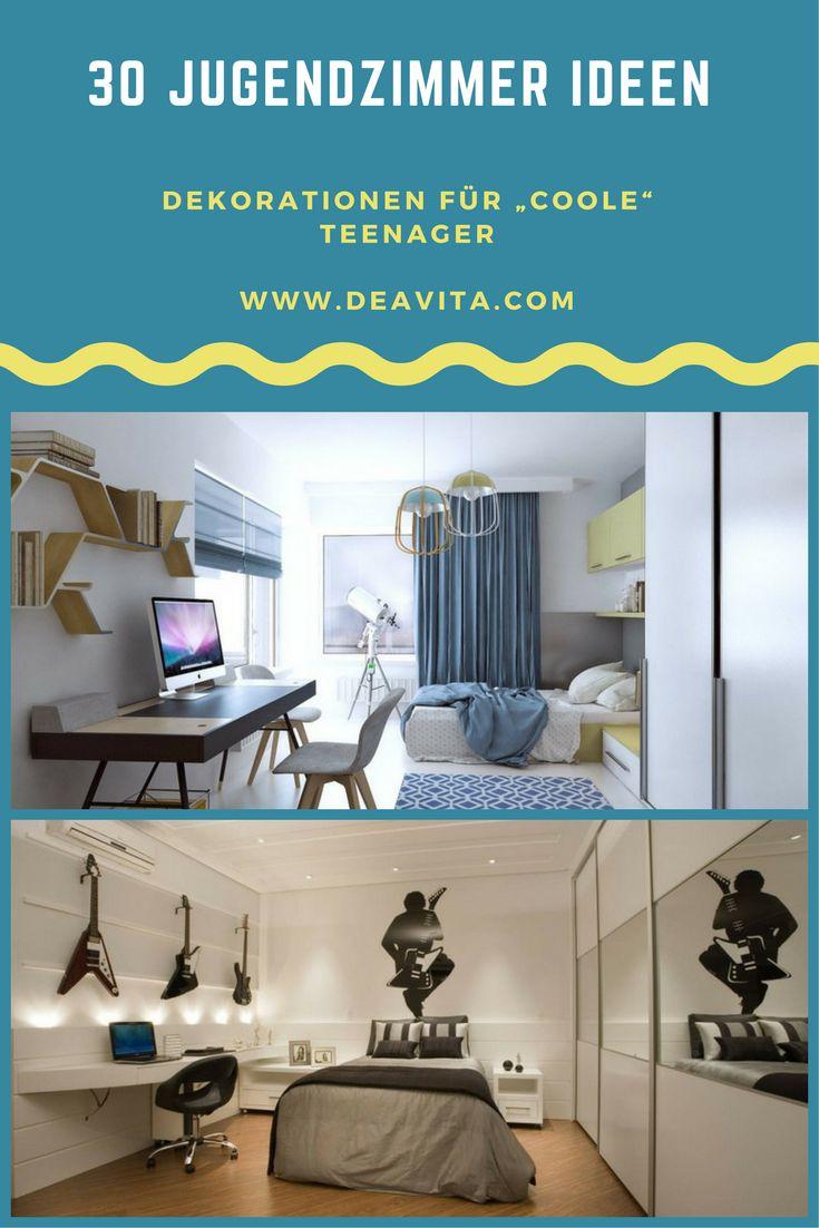 Hier Haben Wir Einige Tolle Jugendzimmer Ideen Zusammengestellt, Die Auch  Teenager Für Cool Halten Könnten. Da Teenager Viel Zeit In Ihrem Zimmer  Verbringen