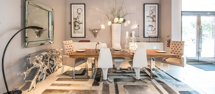 #Modern #design goes cowboy #chic at #Cantoni #Dallas! See what inspired this sleek look with a #Texas twist on the Blog!