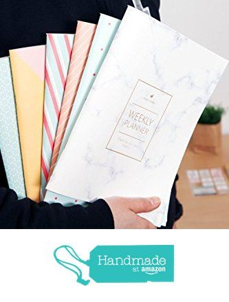 Marble Weekly Planner (Dateless) • 2018 Weekly Notebook • Agenda • Diary • Bridesmaid Gift • Travel Planner • Travel Planner • To do List • Daily Planner • 2017-2018 from Mery Keem https://www.amazon.com/dp/B01CZXXB1O/ref=hnd_sw_r_pi_dp_2egFzb0YD1FTD #handmadeatamazon