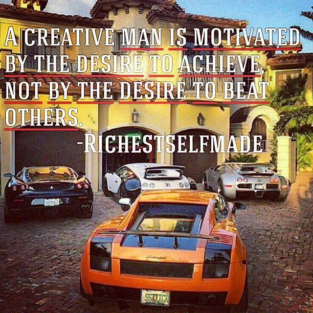 Achieve what you're doing. Don't mind others. #richestselfmade #millionaire #motivation #success #billionnaire #playboy #inspiration #lifestyle #entrepreneur