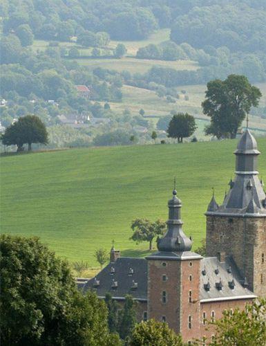 kasteel Neubourg, Gulpen. Limburg. The Netherlands
