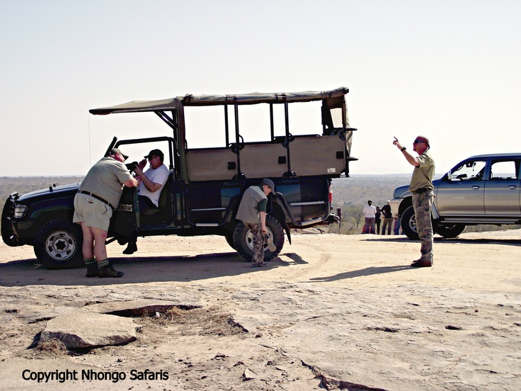 Having a break on Kanonkop in the Kruger National Park near to Skukuza.