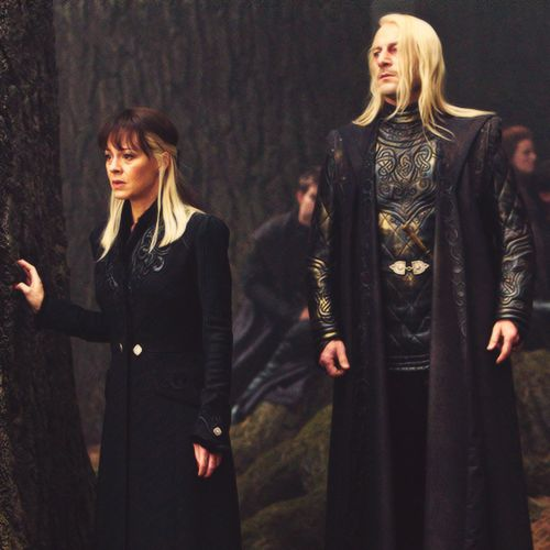 Narcissa and Lucius Malfoy, Harry Potter and the Deathly ...