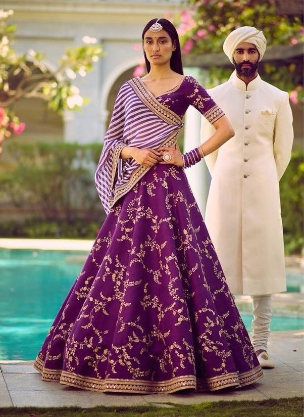 06e5b6d8e9ef What is the best type of lehenga to wear in a wedding? - Quora ...