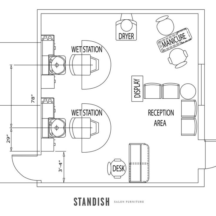 11 best business: salon floor plans images on pinterest | salon