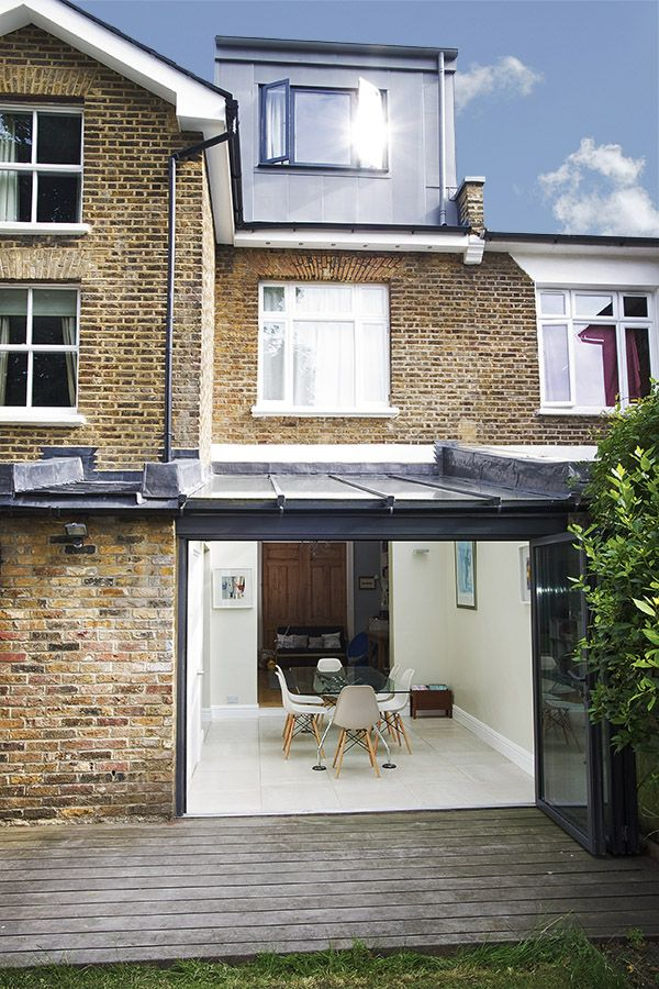 East dulwich in east dulwich greater london side for Kitchen ideas terraced house