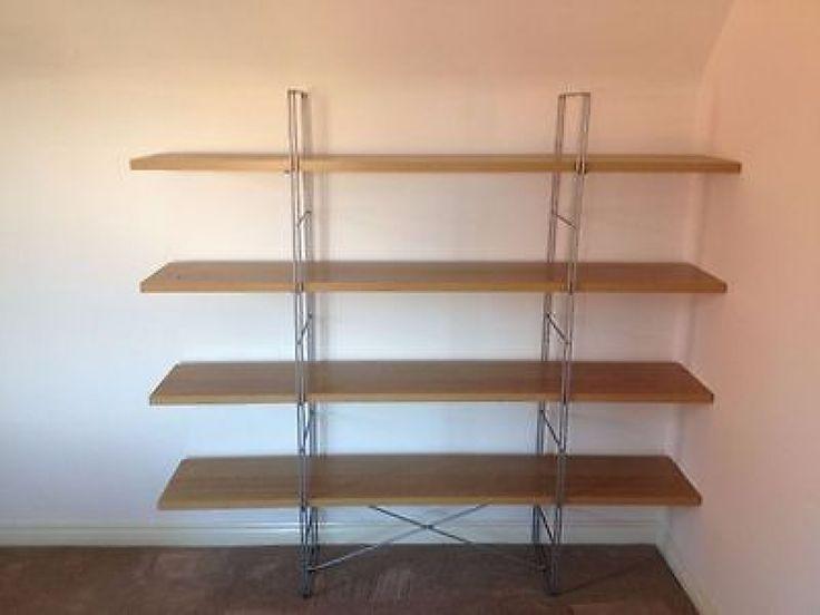 Slim bookcase ikea, ikea furniture ikea light oak free standing ...