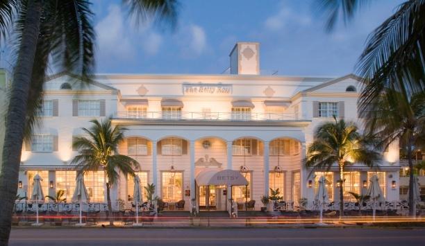 The Betsy Hotel Miami Beach Miami Hotel Interior Designs
