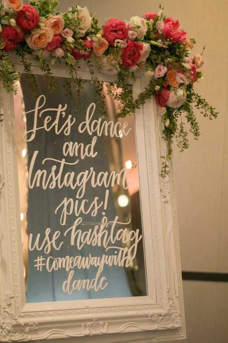 #signs, #instagram  Photography: Jana Williams Photography - jana-williams.com  Read More: http://www.stylemepretty.com/2014/10/20/blogger-bride-devon-rachel-wedding/