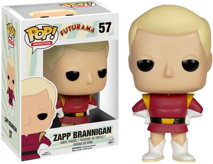 Zapp Brannigan Pop Vinyl | Futurama | Popcultcha