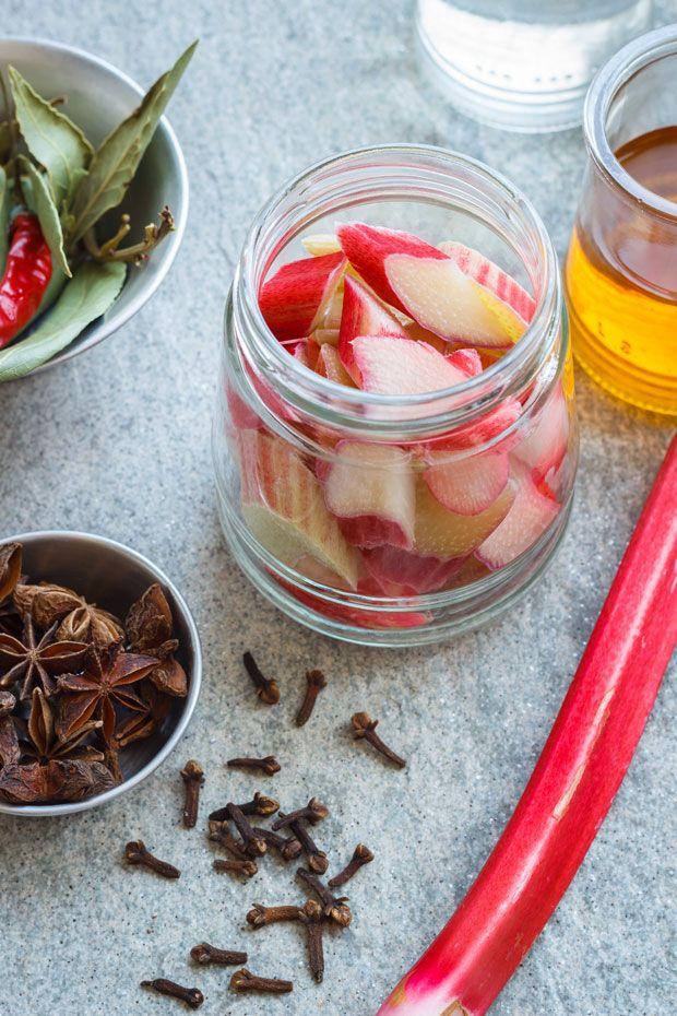 rhubarb pickles recipe