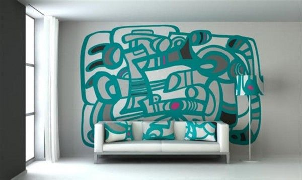 Wall Painting Chatterbox Theme