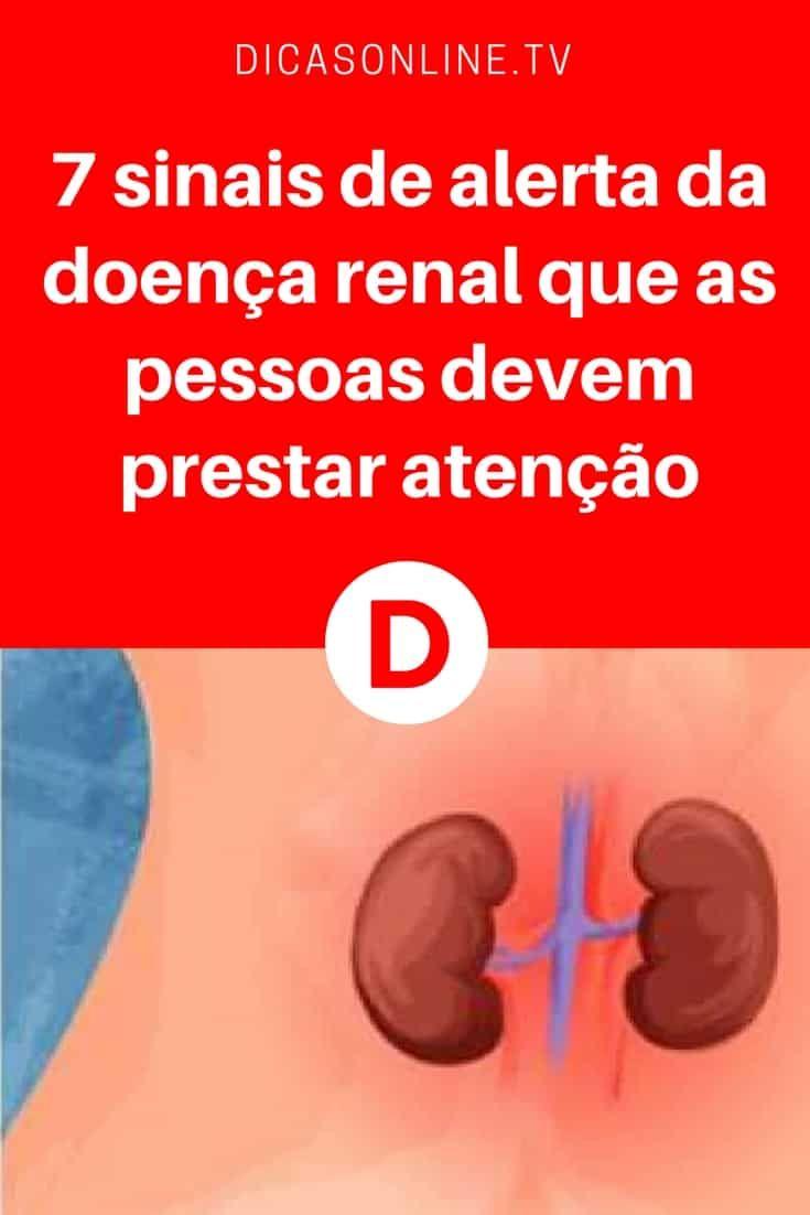 Doença renal crônica | 7 sinais de alerta da doença renal que as pessoas devem prestar atenção | Informações que podem ajudar a evitar problemas de saúde sérios.