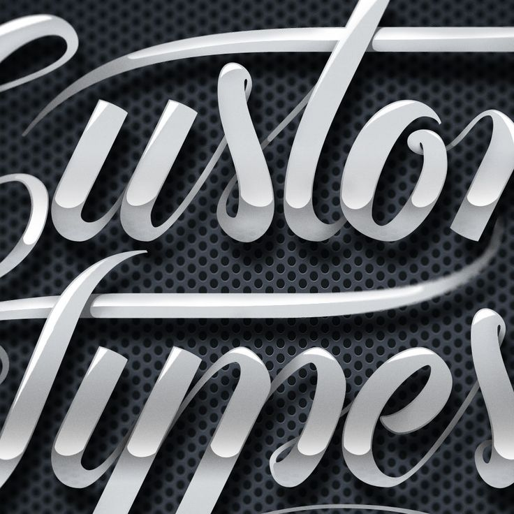 how to create a custom typography